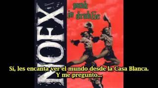 NOFX Perfect Government (subtitulado español)
