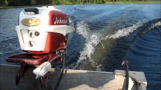 1957 Johnson CD-14 5.5hp outboard motor