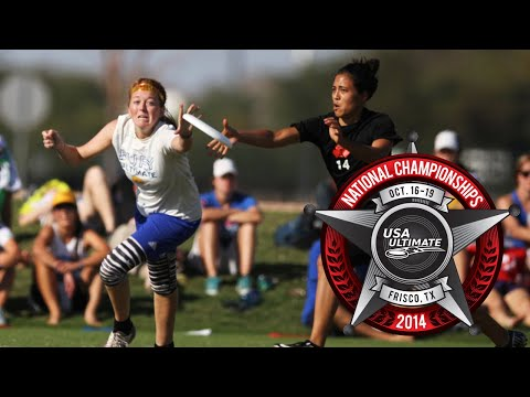 Video Thumbnail: 2014 National Championships, Women's Semifinal: San Francisco Fury vs. Seattle Riot
