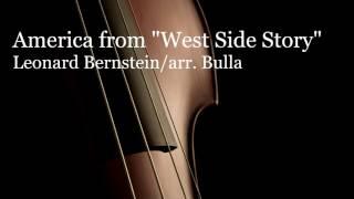 "America from ""West Side Story"" Orchestra Arrangement by Leonard Bernstein arr. Bulla"