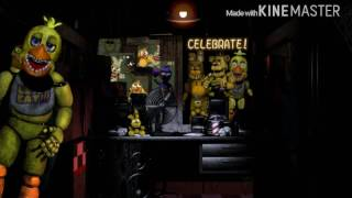 Fredbear and spring chica sing fnaf song