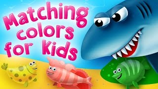 Matching Colors for Kids. Preschool and Kindergarten activities by Kids Academy.