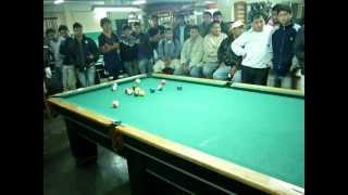 POOL PERUANO: DIBU VS QUIQUE ROJAS 8