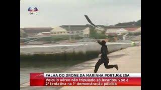 Falha do Drone da Marinha Portuguesa