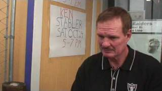 Ted Hendricks at John Vella's Locker Room  2009