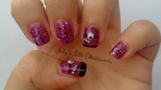 Evil Minion Nail Art