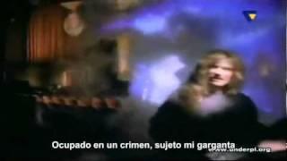Megadeth   Angry Again (Subtitulos Español) HD-wmw