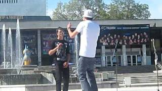 Lil Ruff feat. Lil Yosi - Lil Ruff Yosi Bandana Live !.AVI