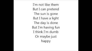 6 Nirvana - Dumb (Lyrics) 2013 edition