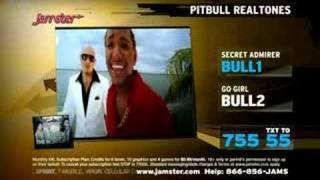 Pitbull Ringtone TV Spot