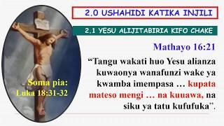 Kufa na Kufufuka Kwa Yesu Kristo width=
