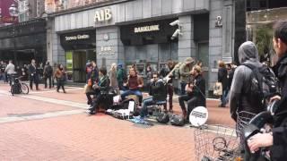 Keywest live in dublin's street