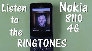 Nokia 8110 4G Phone Ringtones
