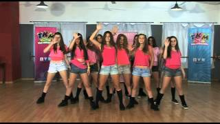 Coreografía de Turn Me On de David Guetta & Nicki Minaj / TKM LIVE