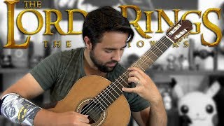 THE LORD OF THE RINGS: The Riders of Rohan - Classical Guitar Cover
