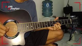 Tutorial melodi gitar LUKA - ANGKASA
