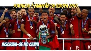 Portugal vs France - Ziel die Sieg - Euro Copa 2016 - Gool da Vitória