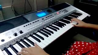 The Shadows Theme For Young Lovers Cover On Keyboard - Harshvi