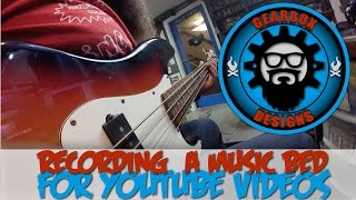 How I Record Music For My Channel - Gearbox Designs