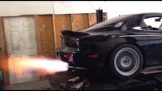 mazda rx7 turbo rotary FIRE