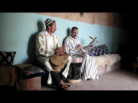 """Beautiful music"" outside Agadir in a small village"