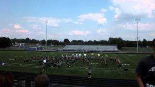 LHS Spartan Marching Band 2014 Post Band Camp Musical Demonstration