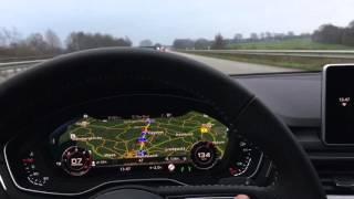 Audi A4 2016 - piloted driving - Siri HomeKit  - self parking - traffic jam - CarPlay