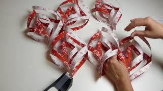 Julpyssel - gör en egen julstjärna av papper