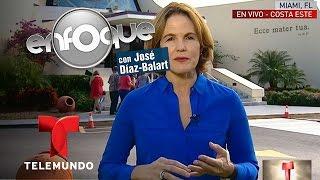 Cubanos en Miami reza por cambos pacíficos en la isla   Enfoque   Noticias Telemundo