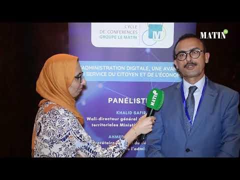 Video : Enjeux de la digitalisation : Déclaration de Mohammed Ikbal Belfkih, directeur des Impôts des Grandes Entreprises de Casablanca