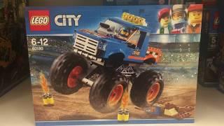 LEGO 60180 - LEGO City 60180 - Starke Fahrzeuge Monster-Truck, Kinderspielzeug