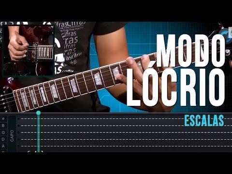 Modo Lócrio - Escalas (aula técnica de guitarra)