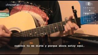 """Cómo tocar """"Déjenme Llorar"""" de Carla Morrison en Guitarra (HD) Tutorial - Christianvib"""