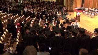 Graduation Day At New England Conservatory Of Music 5-19-2013