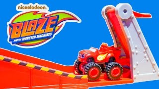 BLAZE Nickelodeon Blaze and the Monster Machines Monster Dome Track Toys Video