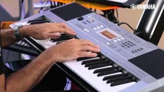 NOVO PSR-E353 - Demonstração (Expomusic 2015)
