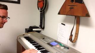YOU ARE GOOD by Bethel Music piano riff key of D