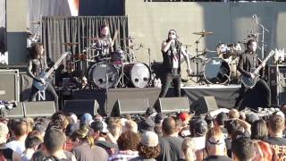 Motionless In White - Unstoppable LIVE Austin Tx. 9/2/15