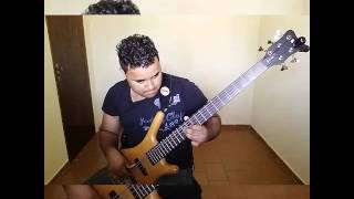 Dalvan Baixista bass cover /foge mulher maravilha/