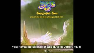 Yes :The Revealing Science of God (Live in Detroit 1974)
