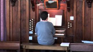 Sweet is the Promise,I will not forget thee,Played on the Organ at Brea Chapel,Cornwall,1/5/13
