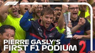 Pierre Gasly's First F1 Podium | 2019 Brazilian Grand Prix