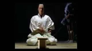 Hara-kiri o Seppuku un suicidio ritual