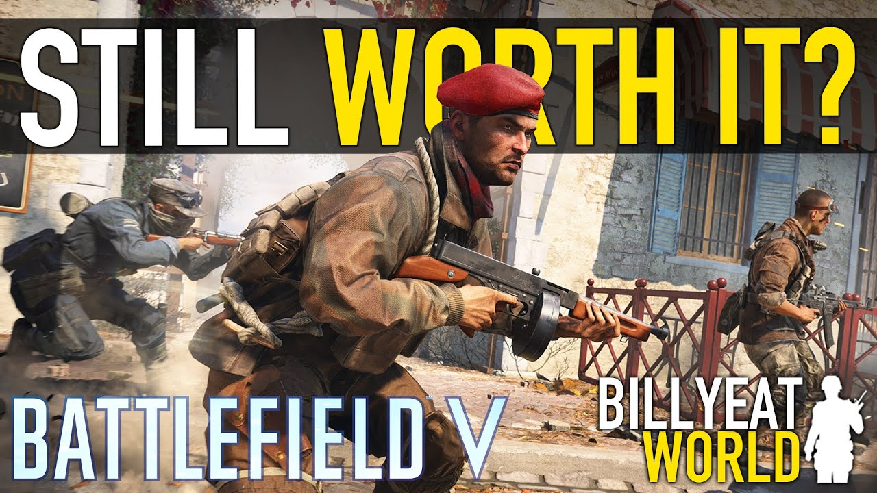 BillyEatWorld - 2 Years Later... is BATTLEFIELD V Dead or Still Worth It? (2020 Review)