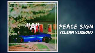 Peace Sign (CLEAN VERSION) Usher Ft Zaytoven