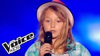 The Voice Kids 2015   Satine -  Il m'a montré à Yoodler (Manon Bédard)   Blind Audition