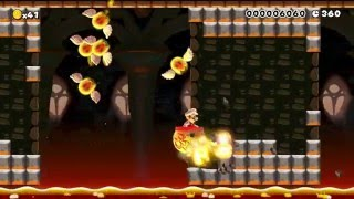"Super Mario Maker Levels: ""Lava Bubble Trouble"""