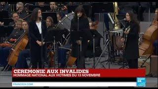 """Hommage national : """"Quand on a que l'amour"""" de Brel par Camelia Jordana,  Yaël Naïm et Nolwenn Leroy"""
