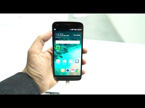 اول نظرة على جهاز LG G5 من برشلونا MWC 2016