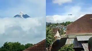 Gunung Merapi Kembali Luncurkan Awan Panas, Jarak Luncur 400 Meter